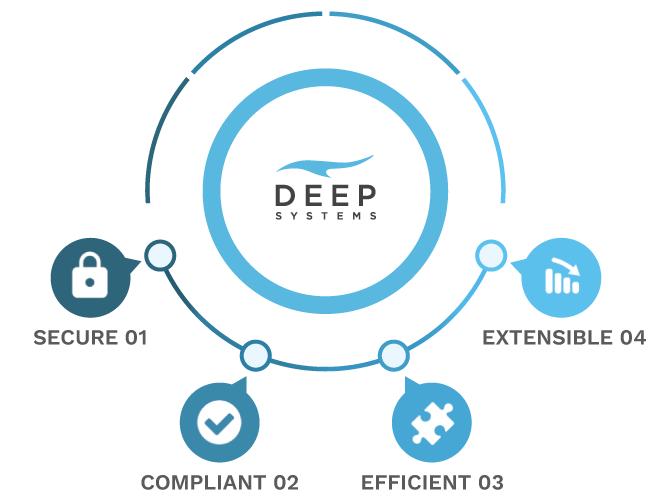 Deep Systems: Secure, Compliant, Efficient, Extensible